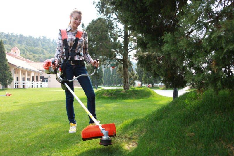 Sử dụng máy cắt cỏ honda chất lượng