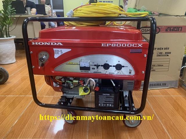 Máy phát điện Honda EP8000CX (Giật Nổ - 7.5KVA)