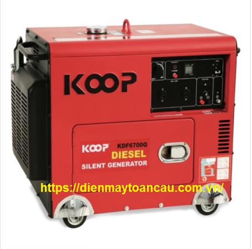 Máy Phát Điện Chạy Dầu 4.5kVA Koop KDF6700Q