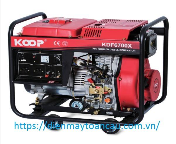 Máy phát điện Diesel Koop KDF6700X