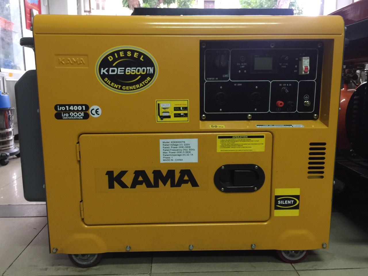 Máy phát điện Kama KDE-6500TN
