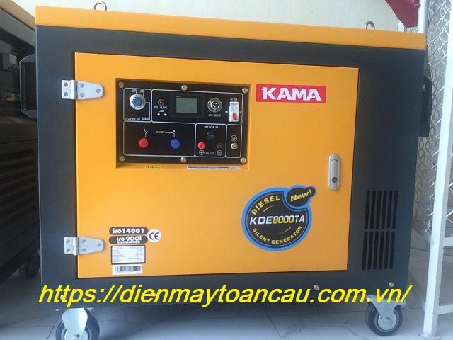 Máy phát điện KAMA KDE 8000TA
